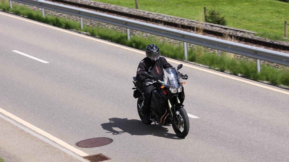 Testfahrt mit Yamaha Super Ténéré