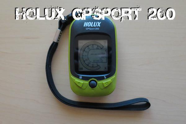 GPS Aufzeichnung mit Holux GPSport 260