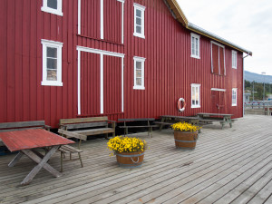Norwegen altes Kaffeelager