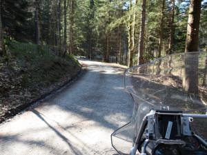 Kurventraining Motorrad