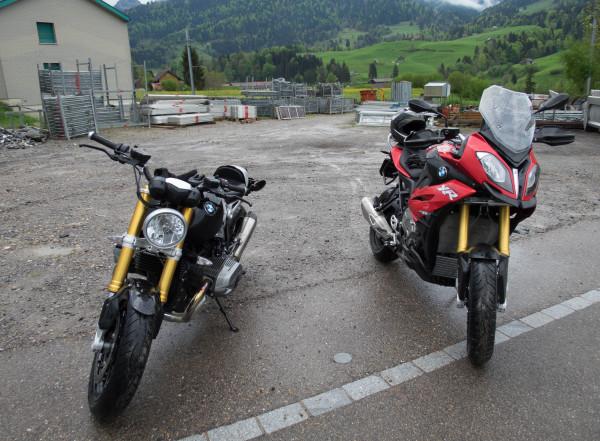 Testfahrt mit BMW S 1000 XR und BMW R nine T