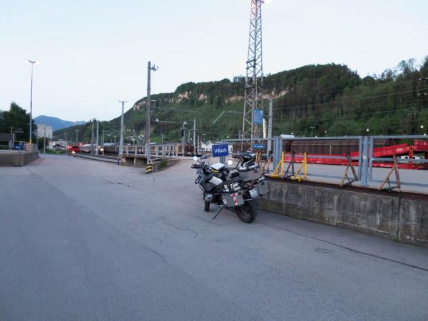 Kroatien Route, Feldkirch Bahnhof