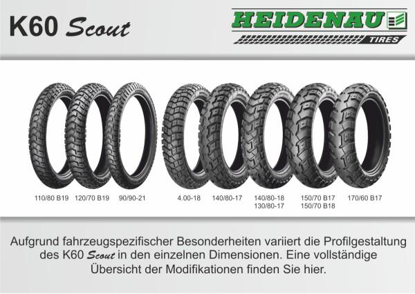Heidenau K60 Scout Übersicht