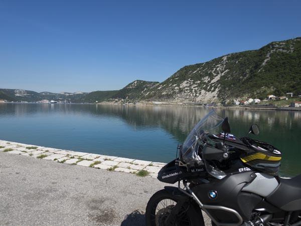 Kroatien Route Tag 3