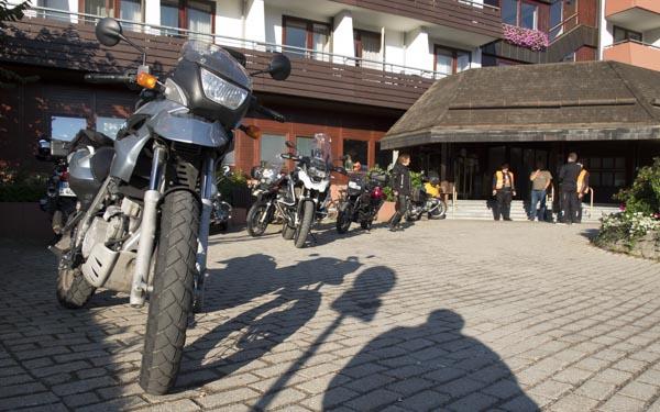 BMW GS Endurobikes Treffen Hotel Maritim