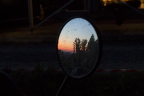 Sunset, Mirror