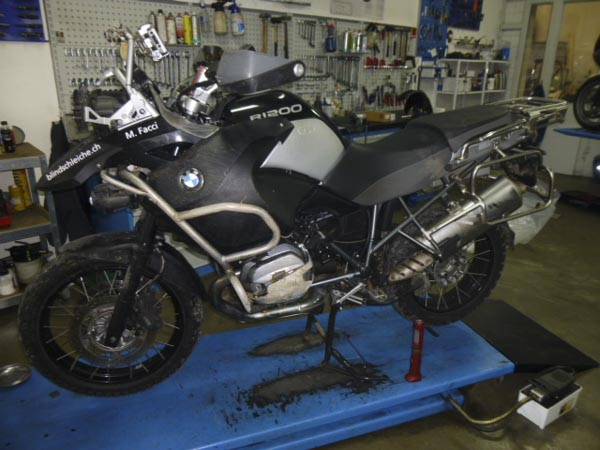 Repararur BMW R1200 GS Adventure