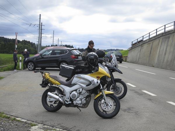 reisen mit dem Motorrad