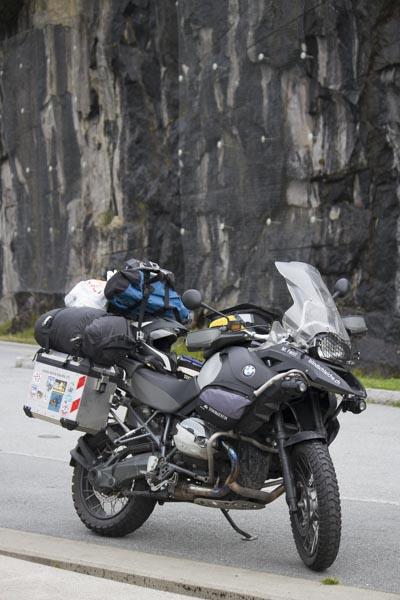 BMW R1200 GS Adventure in Norwegen