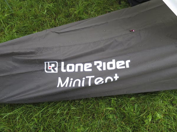 LoneRider Minitent Test am Touratech TravelEvent