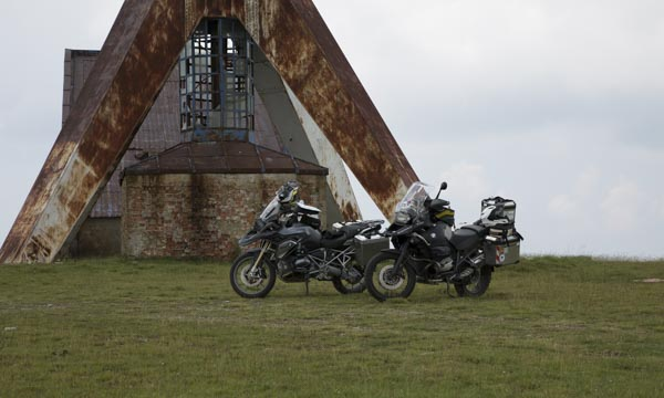 Crash im Semenic Gebirge, Rumänien Tag 2