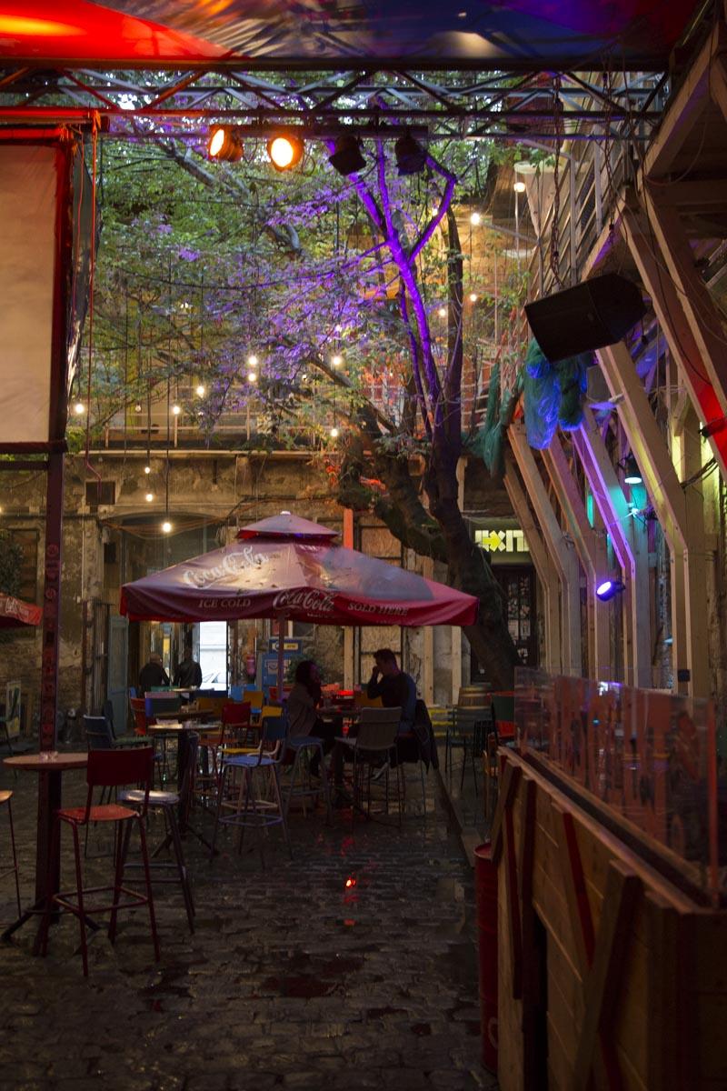Fotografischer Rückblick, Budapest, Club