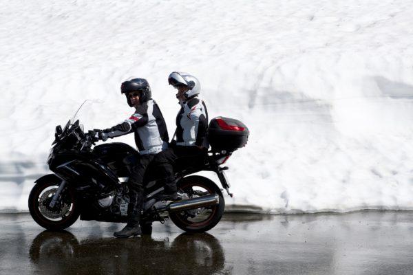 Das Bike im Wintereinsatz