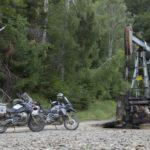Ölpumpe im Wald