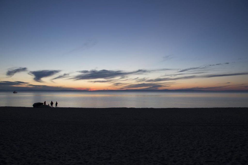 erster Reisevortrag: Abend am Laik Baikal in Russland