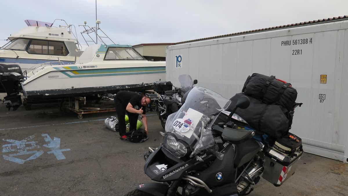 Ablauf der Einreise nach Japan mit der EasternDream und Motorrad