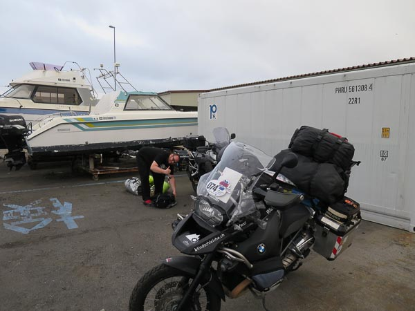 Japan, Motorrad, Reise, Zolllager, Einreise