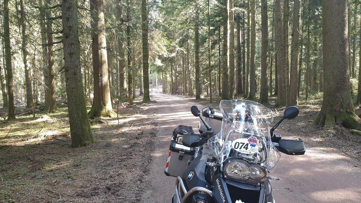 Schwarzwaldroute von Waldshut nach Strassburg