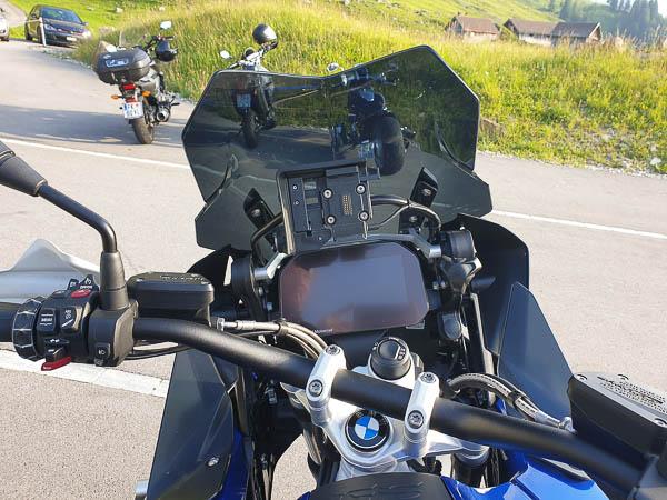 BMW R1250 GS Adventure, Cockpit