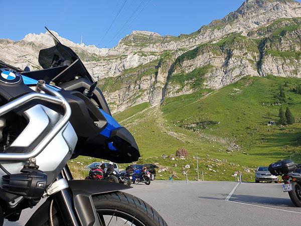 BMW R1250 GS Adventure auf Testfahrt Schwägalp