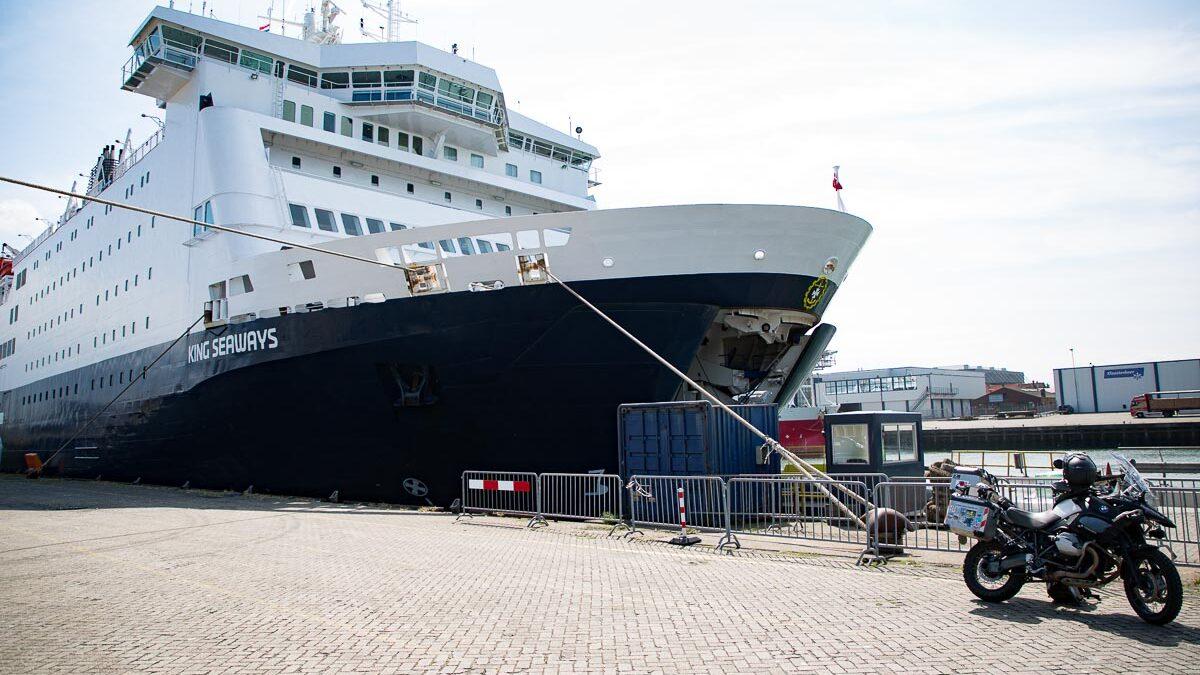DFDS Fähre von Amsterdam nach Newcastle