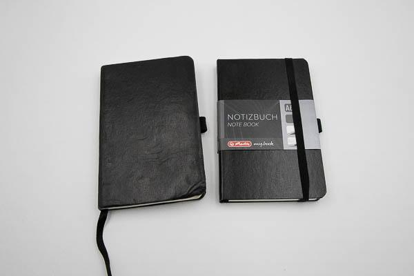 altes und neues Notizbuch