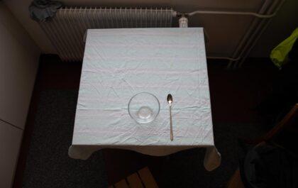 Setup für Foto / Frühstück