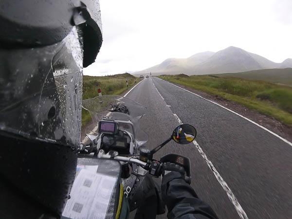 Schottland bei Regen
