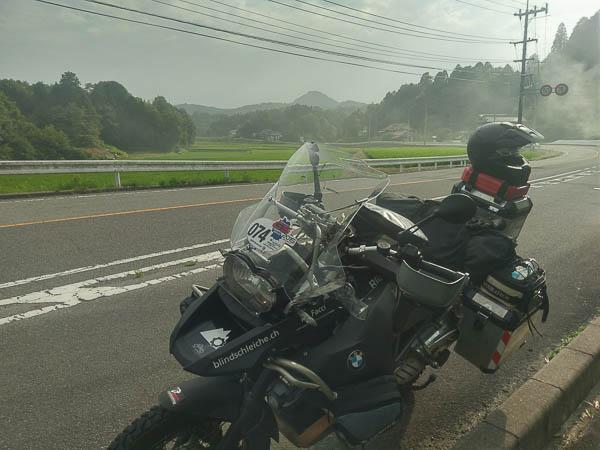 100000 km Marke erreicht in Japan