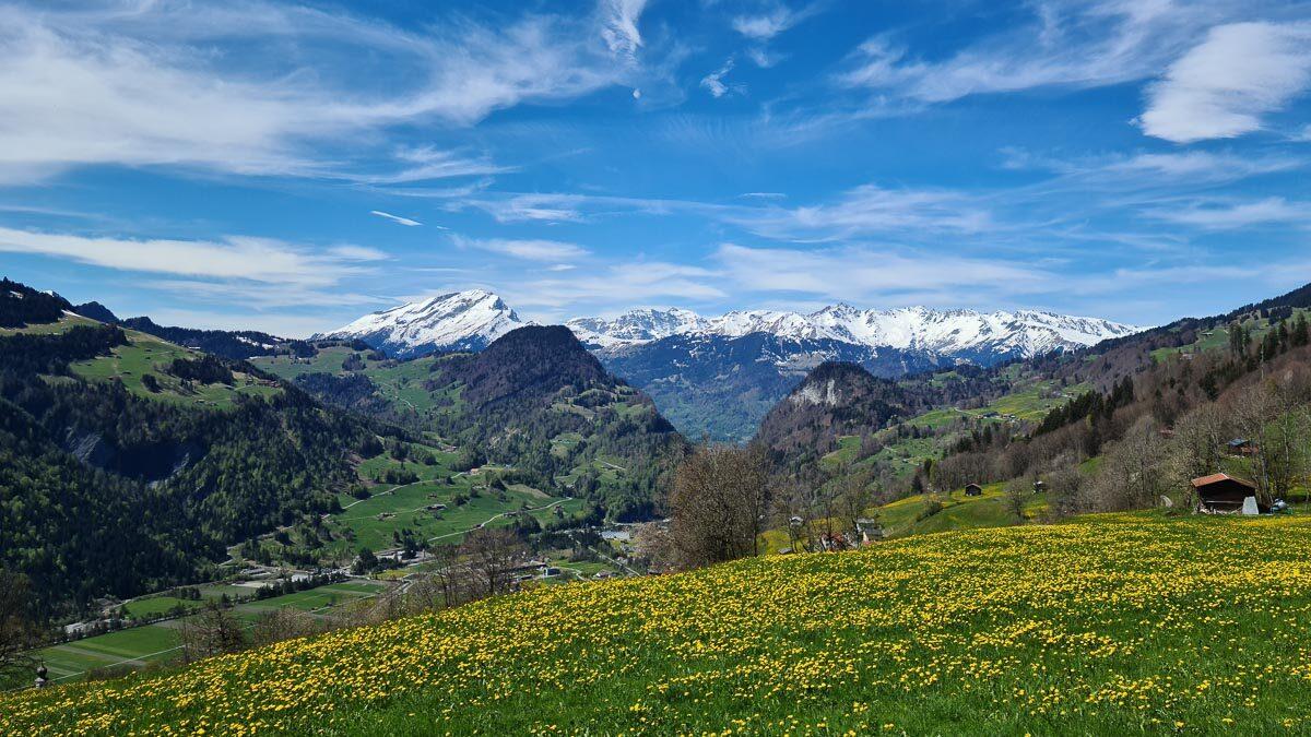 Routentipp Prättigau in Graubünden
