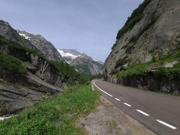 Grimslepass, alte Route
