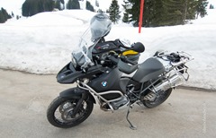 BMW R1200 GS Adventure - Schwägalp