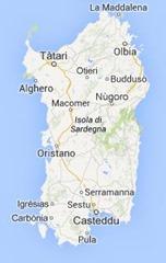 Sardinien-map